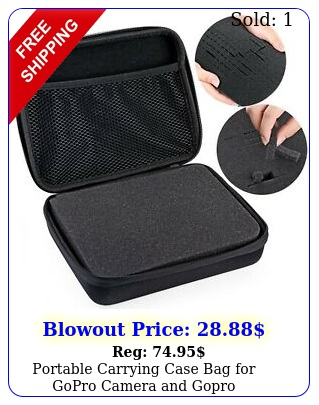 portable carrying case bag gopro camera gopro accessorieshapurs dur