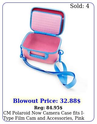 cm polaroid now camera case fits itype film cam accessories pink case onl