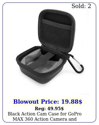 black action cam case gopro max action camera accessories case onl