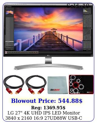 lg k uhd ips led monitor x  udw usbc  mouse pad bundl