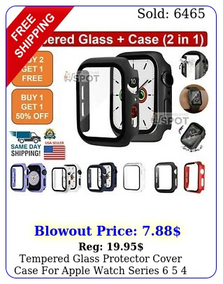 tempered glass protector cover case apple watch series  s