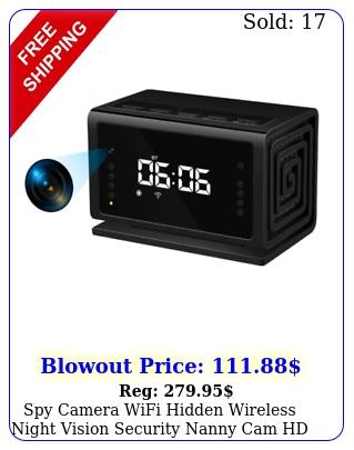 spy camera wifi hidden wireless night vision security nanny cam hd p alar