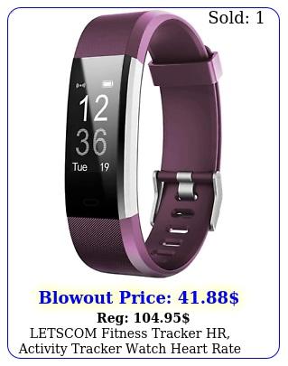 letscom fitness tracker hr activity tracker watch heart rate monitor wate ne