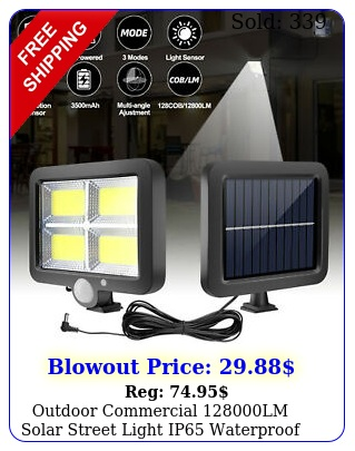 outdoor commercial lm solar street light ip waterproof dusk to dawn lam