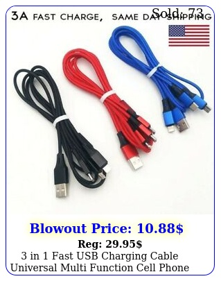 in fast usb charging cable universal multi function cell phone charger cor