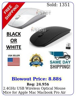 ghz usb wireless optical mouse mice apple mac macbook pro air p