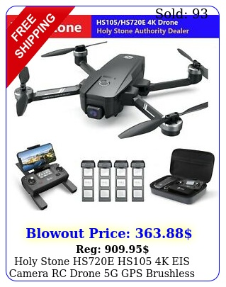 holy stone hse hs k eis camera rc drone g gps brushless quadcopter cas