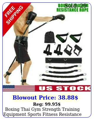boxing thai gym strength training equipment sports fitness resistance bands se