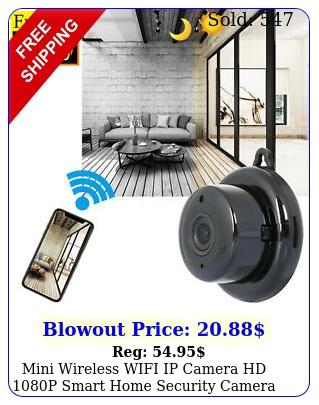 mini wireless wifi ip camera hd p smart home security camera night visio
