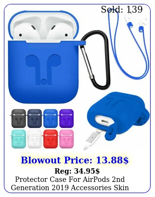 protector case airpods nd generation accessories skin holder bag cove