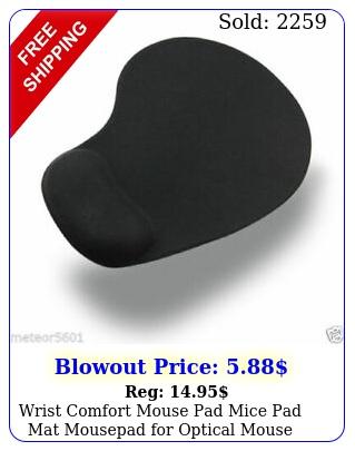 wrist comfort mouse pad mice pad mat mousepad optical mous