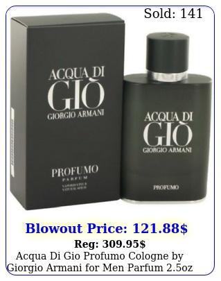 acqua di gio profumo cologne by giorgio armani men parfum oz in bo