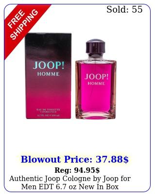 authentic joop cologne by joop men edt oz i