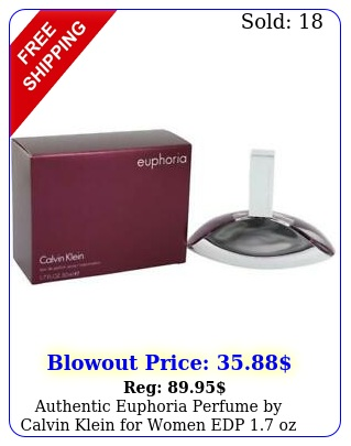 authentic euphoria perfume by calvin klein women edp oz i