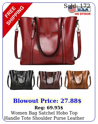 women bag satchel hobo top handle tote shoulder purse leather crossbody handba