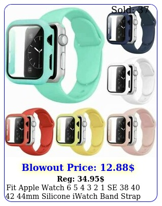 fit apple watch    se  mm silicone iwatch band strap  cas