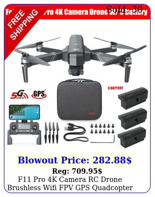 f pro k camera rc drone brushless wifi fpv gps quadcopter m w batter
