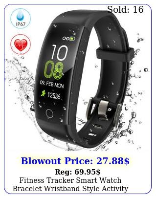 fitness tracker smart watch bracelet wristband style activity heart rate monito