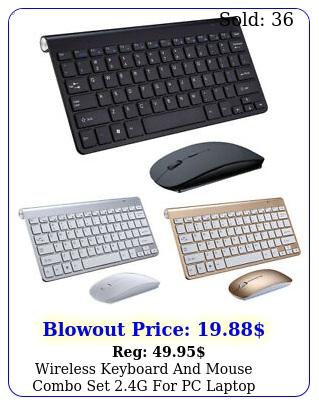 wireless keyboard mouse combo set g pc laptop computer sli
