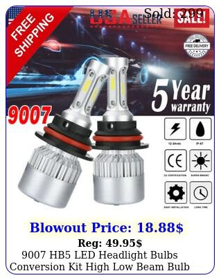 hb led headlight bulbs conversion kit high low beam bulb super white