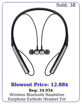 wireless bluetooth handsfree earphone earbuds headset iphone samsung androi