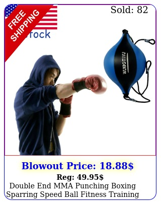 double end mma punching boxing sparring speed ball fitness training equipmen