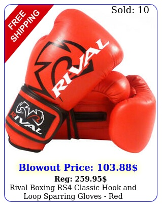 rival boxing rs classic hook loop sparring gloves re