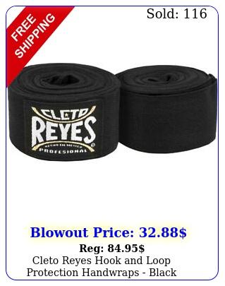 cleto reyes hook loop protection handwraps blac