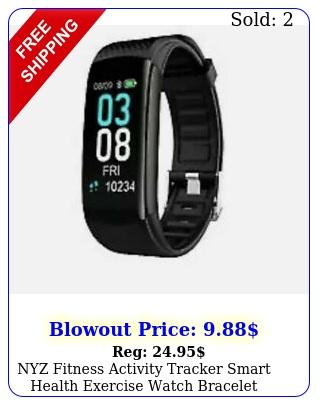 nyz fitness activity tracker smart health exercise watch bracele