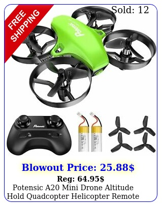 potensic a mini drone altitude hold quadcopter helicopter remote control toy