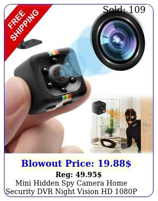 mini hidden spy camera home security dvr night vision hd p motion detectio