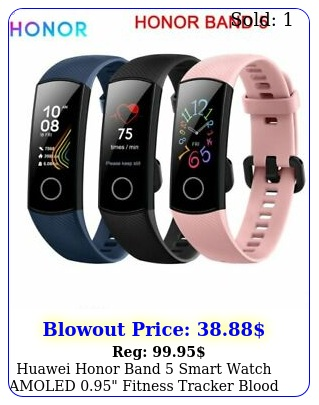 huawei honor band smart watch amoled fitness tracker blood oxygen to