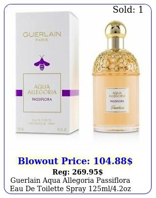 guerlain aqua allegoria passiflora eau de toilette spray mloz women