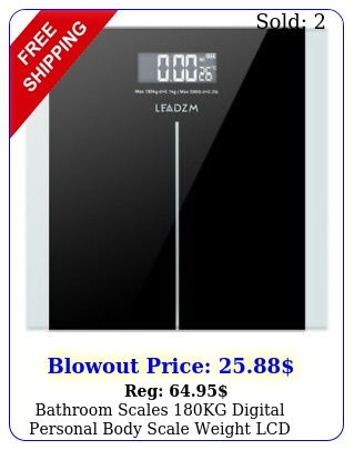 bathroom scales kg digital personal body scale weight lcd lb  batter