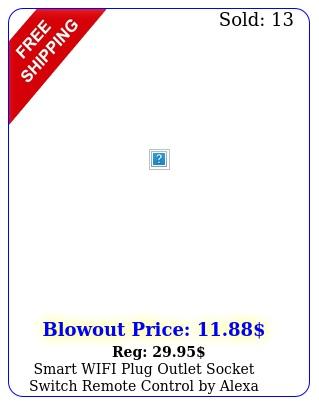 smart wifi plug outlet socket switch remote control by alexa google home u