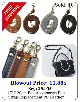 cm bag accessories bag strap replacement pu leather handbag handle purs