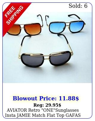 aviator retro onesunglasses insta jamie match flat top gafas shadz fits gif
