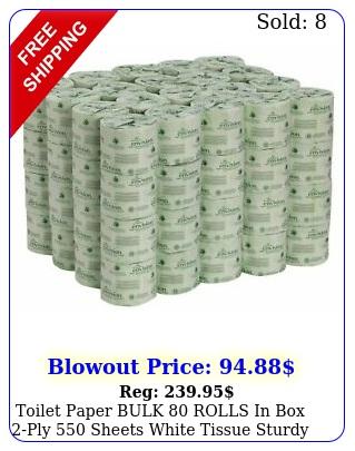 toilet paper bulk rolls in ply sheets white tissue sturdy sof