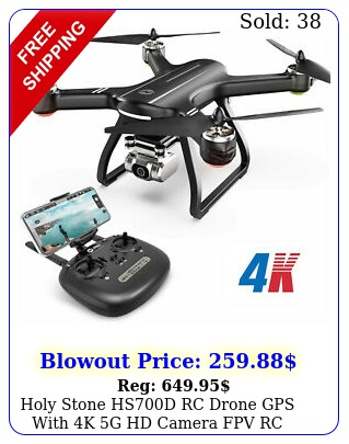 holy stone hsd rc drone gps with k g hd camera fpv rc quadcopter brushles