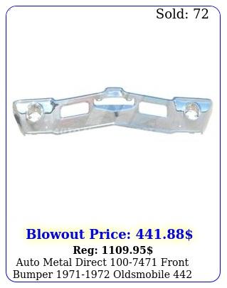 auto metal direct front bumper oldsmobile cutlass cutlas
