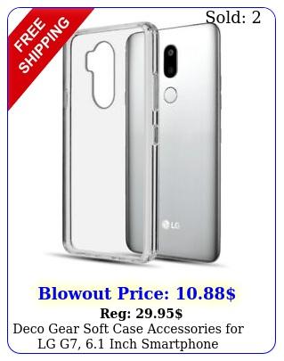 deco gear soft case accessories lg g inch smartphon