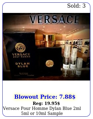 versace pour homme dylan blue ml ml or ml sampl