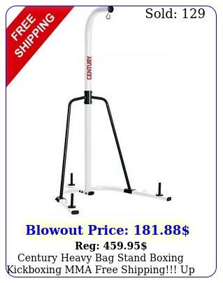 century heavy bag stand boxing kickboxing mma free shipping up to lb ba