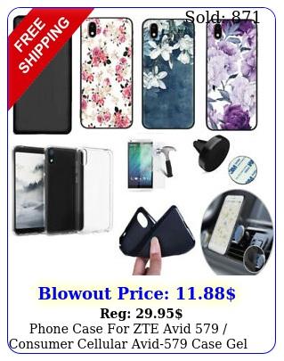 phone case zte avid  consumer cellular avid case gel tpu cove
