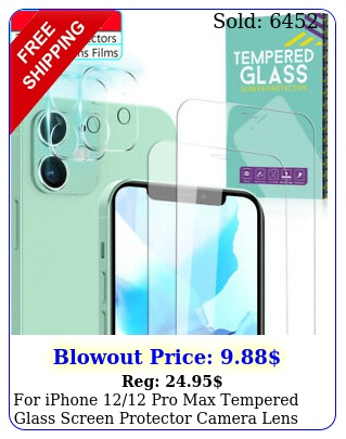 iphone pro max tempered glass screen protector camera lens protecto