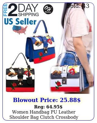 women handbag pu leather shoulder bag clutch crossbody messenger bag oh fashio