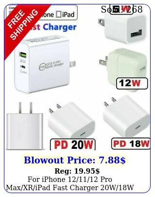 iphone pro maxxripad fast charger ww pd power adapter type