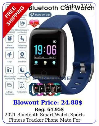bluetooth smart watch sports fitness tracker phone mate iphone androi