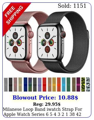 milanese loop band iwatch strap apple watch series     m