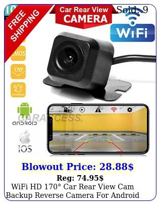 wifi hd car rear view cam backup reverse camera android ios iphone u